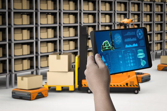 Technician control robots