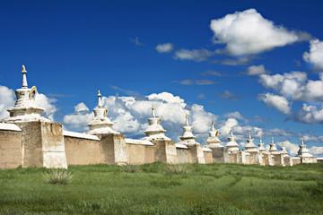 Wall Mural - Walk of old Capital of Karakoram, Mongolia.