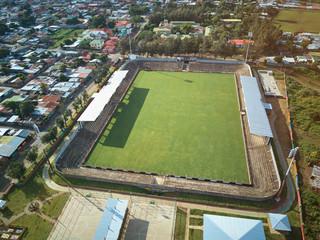 Small football stadium