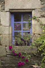 Vecchie finestre in Bretagne