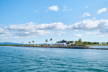 The marine landscape of Fiji.