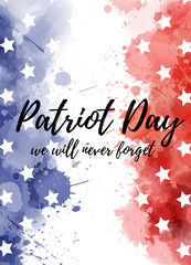 USA Patriot day background