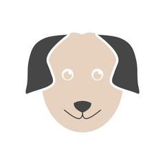 Dog logo, Dog icon, Face dog sign