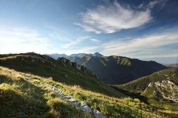 Tatra Mountains at dawn