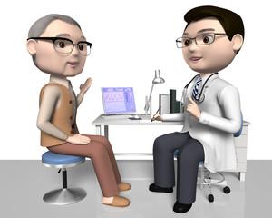 患者と医師 40代