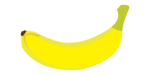Vector Banana Drawing