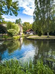 Häuser am Spreewald Kanal