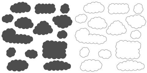 Cloud cartoon collection