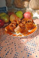 selber gemachtes Apfelleder