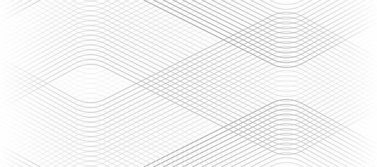 Vector Illustration of the gray pattern of lines abstract background. EPS10. Fototapete
