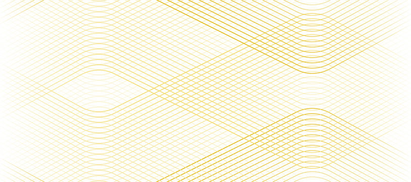 Vector Illustration of the gold pattern of lines abstract background. EPS10.