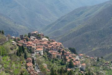 Triora ancient village, Province of Imperia, Italy