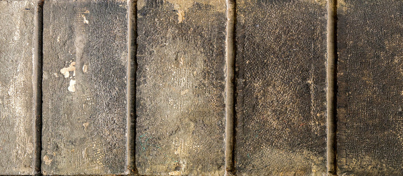 Texture of a wall made of stone blocks. Background