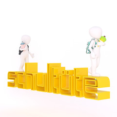 first school day and kids with german yellow Schultuete letters
