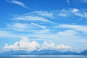 The Blue Sky Panorama of  Wonderfull Indonesia