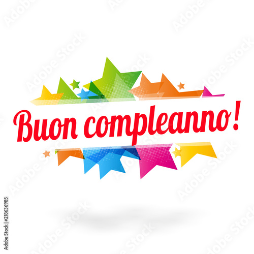 """""""Buon Compleanno !"""" Stock Image And Royalty-free Vector"""