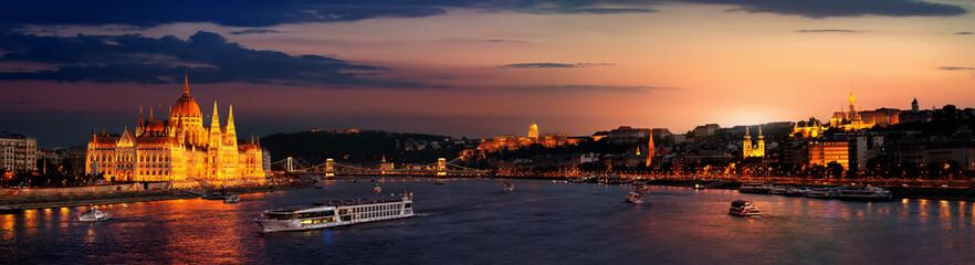 Canvas Prints Budapest Budapest at twilight