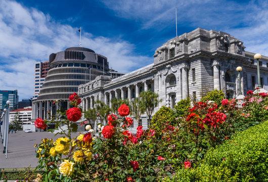 Wellington New Zealand Parliament Buildings