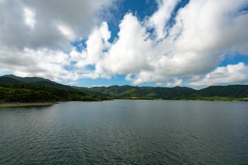 Sokohara Dam of Ishigaki Island in Okinawa, Japan. (石垣島 底原ダム)