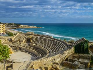 Anfiteatro romano de Tarragona, ciudad de Cataluña, España