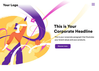 Attractive Landing Page