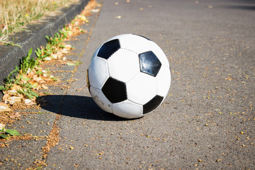 Fußball Straße