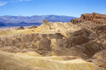 Zabriskie Point, Death Valley National Park in California
