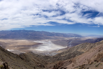 Dantes View at Death Valley National Park in California