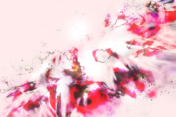 The abstract colorful background