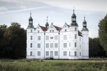 Autocollant pour porte Cracovie Schloss Ahrensburg in Hamburg
