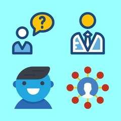 seo icons set. job, cell, design and occupation graphic works
