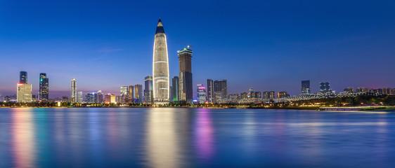 Shenzhen Talent Park Night Panorama