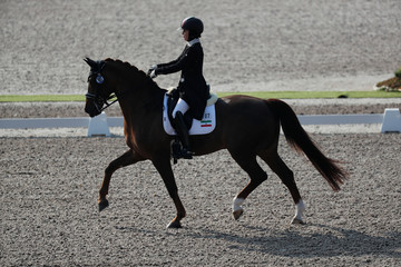 Equestrian - 2018 Asian Games – Dressage Individual Prix St-Georges