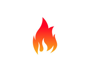 Fire flame vector illustration