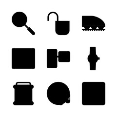 technology icons set. backup, position, icon and dashboard graphic works