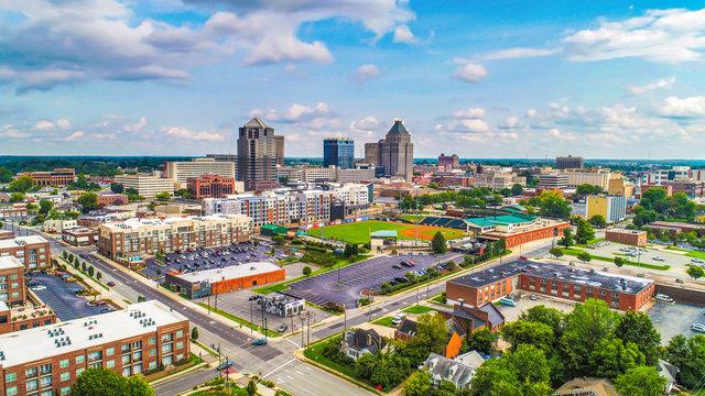 Downtown Greensboro, North Carolina, USA Skyline
