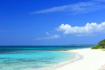 宮古島のビーチ(前浜ビーチ)