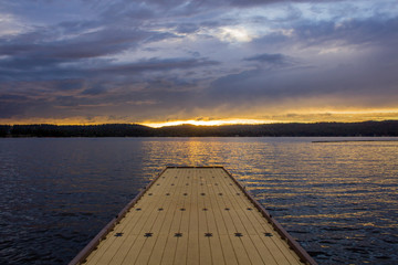 Dock in McCall Idaho
