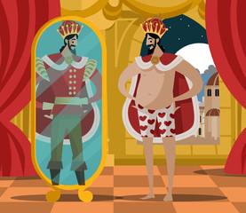 Fototapeta emperor new invisible clothes obraz