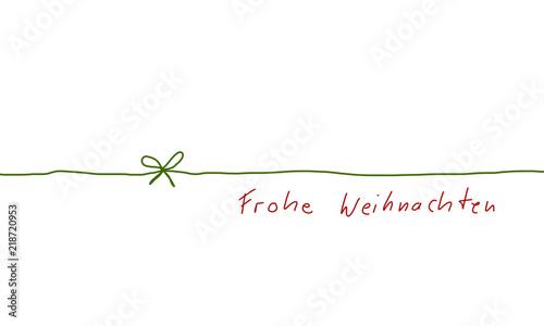 Frohe Weihnachten Band.Schleife Band Banner Frohe Weihnachten Grün Rot Stift Stock Image