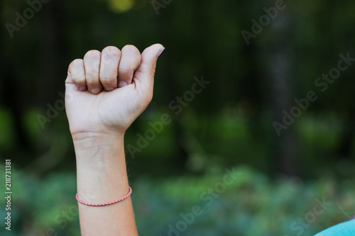 dactyl sign and symbols alphabet concept of human hand and