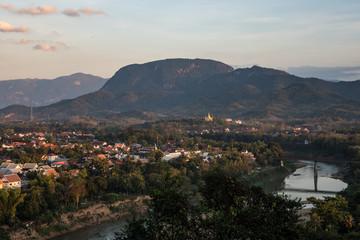 Laos - Luang Prabang - Blick vom Mount Phousi