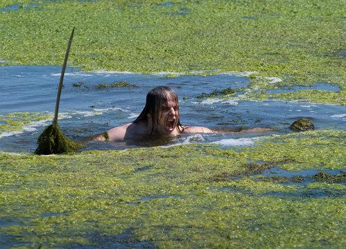 Kampfschrei im Sumpf