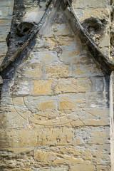Wall Mural - Cadran solaire sur un mur de la cathédrale sainte-Marie à Auch dans le Gers. France.