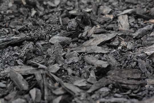 coals after a fire