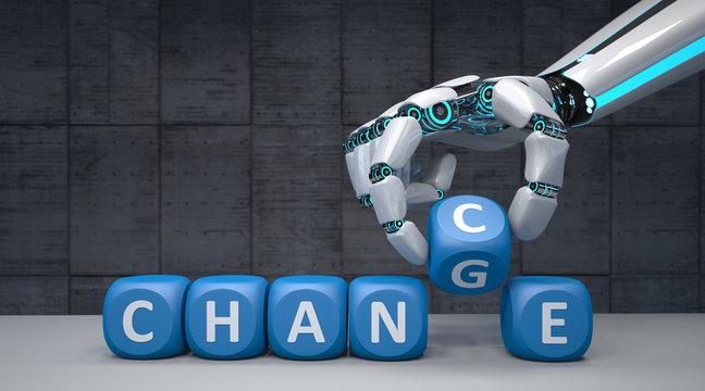 Robot Hand Change Chance