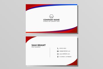 Modern Business card name card Design Template