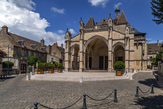 Cathedral Notre Dam - Beaune - Burgundy - France
