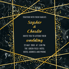 Wedding Luxury Invitation Card