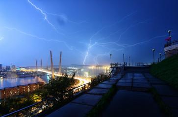 City of Vladivostok, Far East of Russia.